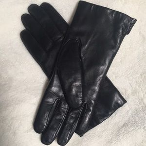 Genuine Leather+ Rabbit Fur Gloves